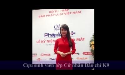 Gương mặt cựu sinh viên: MC, phóng viên Nguyễn Lan Anh
