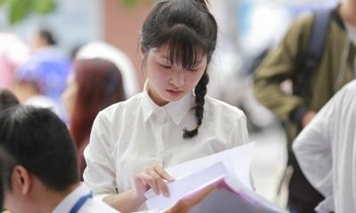 Thí sinh không được xét tốt nghiệp nếu bỏ môn trong bài thi tổ hợp
