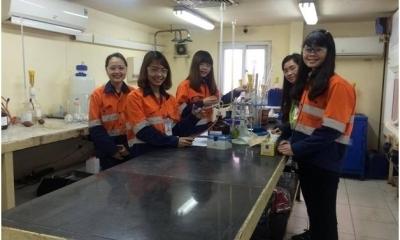 Thực tập tại SGS Núi Pháo - Cơ hội việc làm của sinh viên Khoa Hóa học - Trường Đại học Khoa học